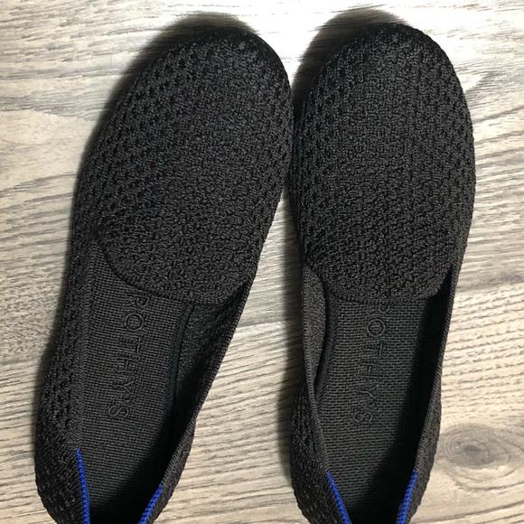 Rothys Black Honeycomb Loafer